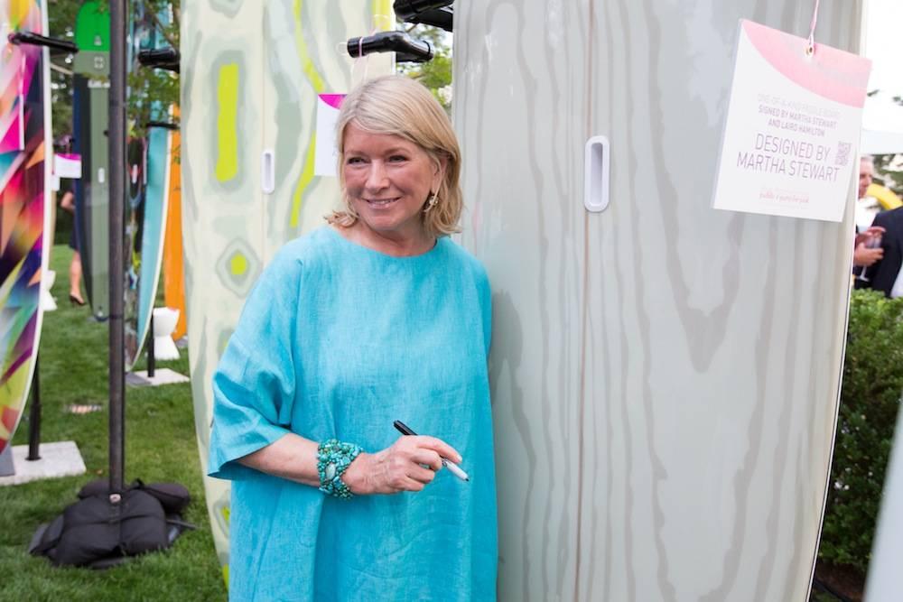 Martha Stewart signature close up