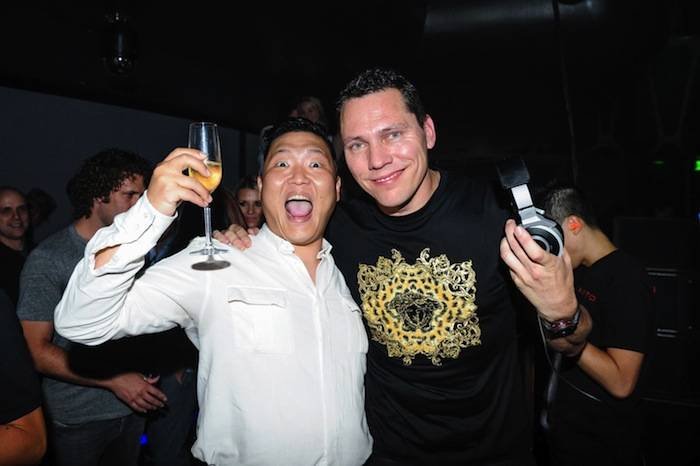 PSY and Tiesto