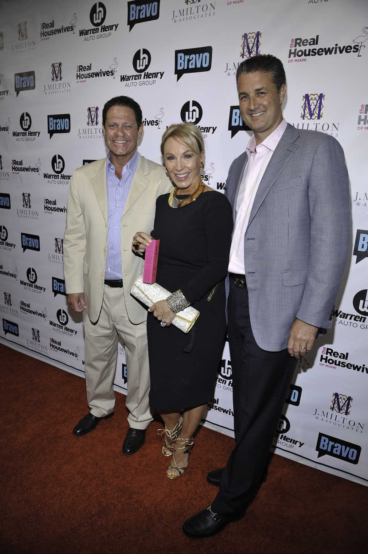 Warren Henry Zinn, President and CEO of Warren Henry Auto Group; Lea Black of The Real Housewives of Miami – Season 3; and Erik Day, Vice President and CFO of Warren Henry Auto Group