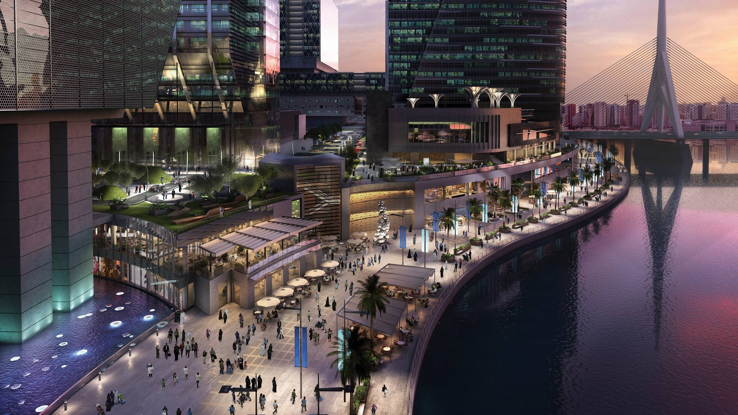 The Galleria on Al Maryah Island – promenade