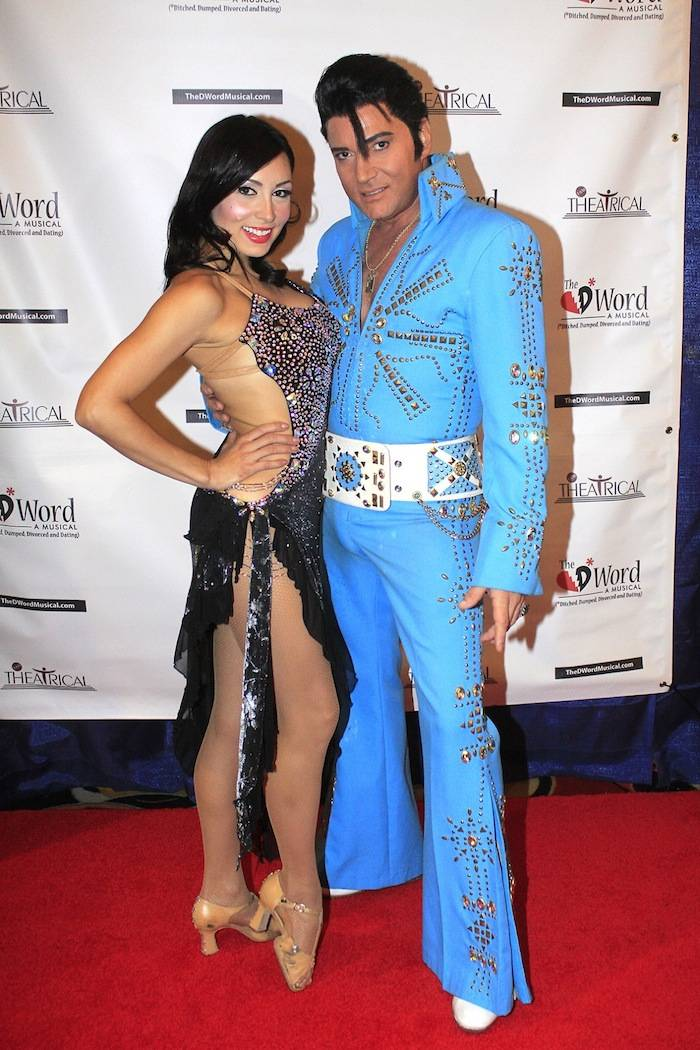 Trent Carlini and Ashley Belle on The DWord Red Carpet2