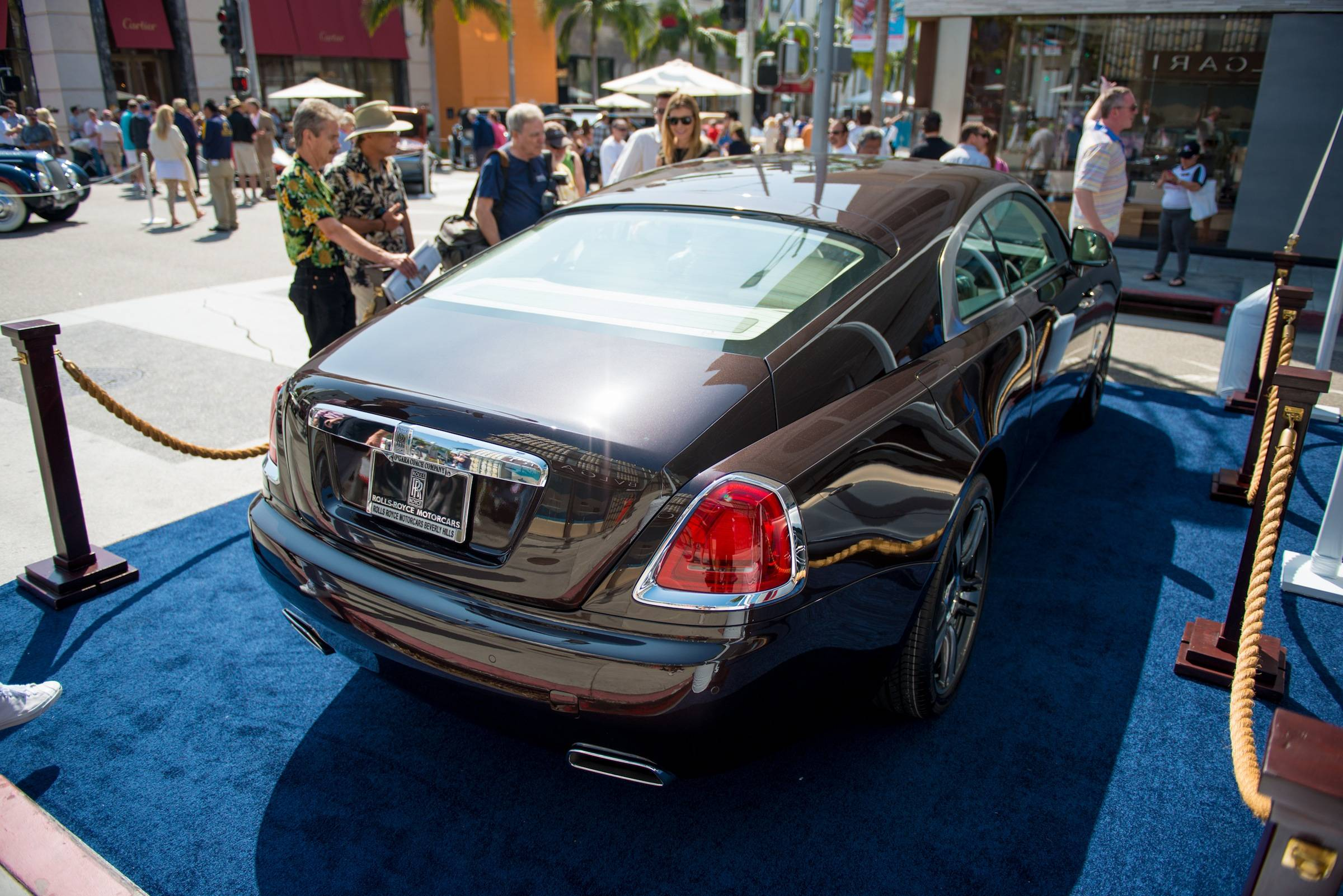 Wraith at Rodeo Drive Concours 1