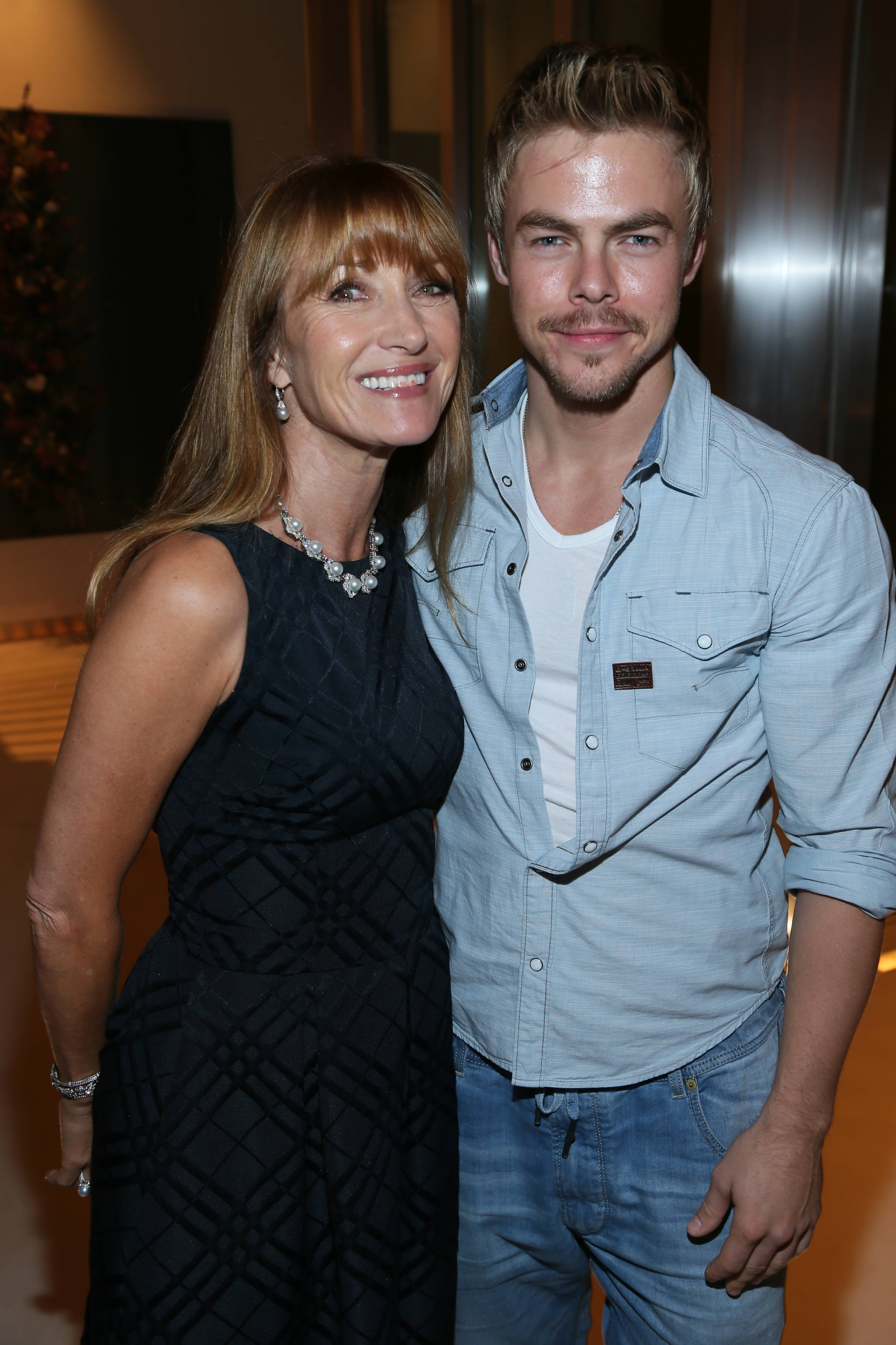 Jane Seymour, Derek Hough