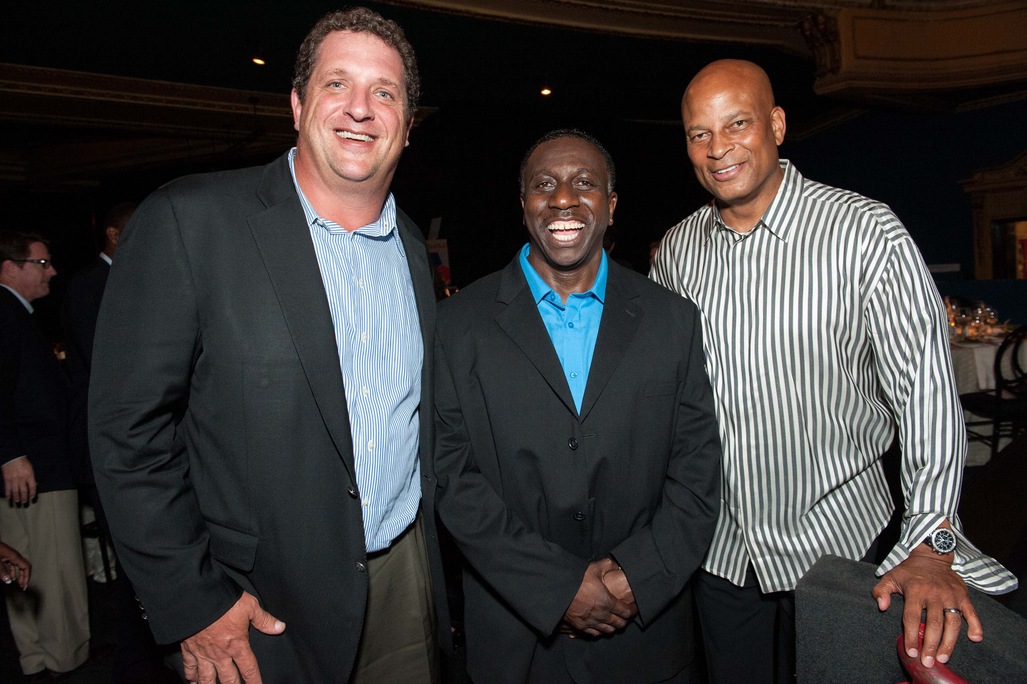 Harris Barton, Patrick Carroll, Ronnie Lott Photo: drewaltizer.com