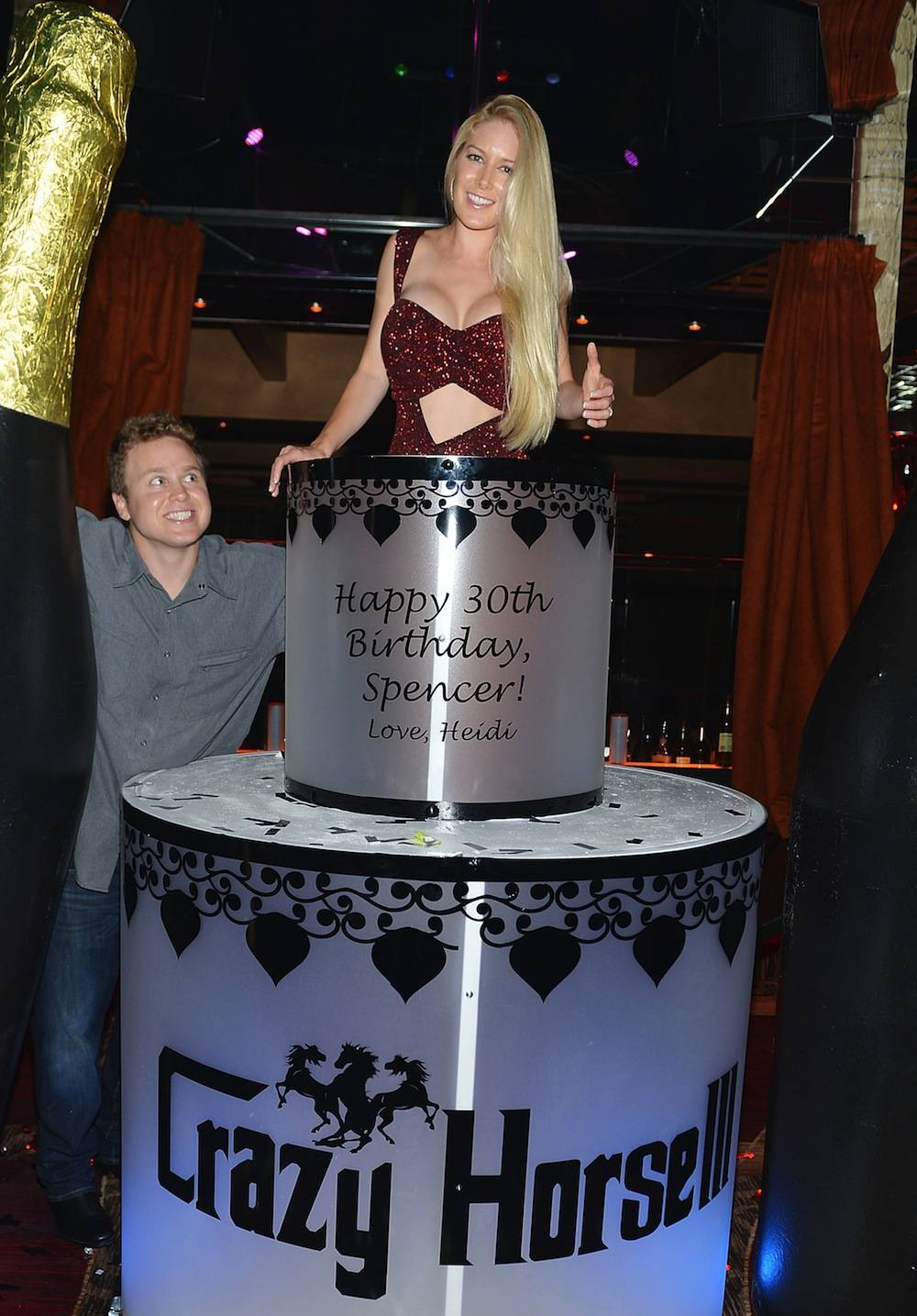 Heidi Montag Hosts Spencer Pratt's 30th Birthday Party At Crazy House III