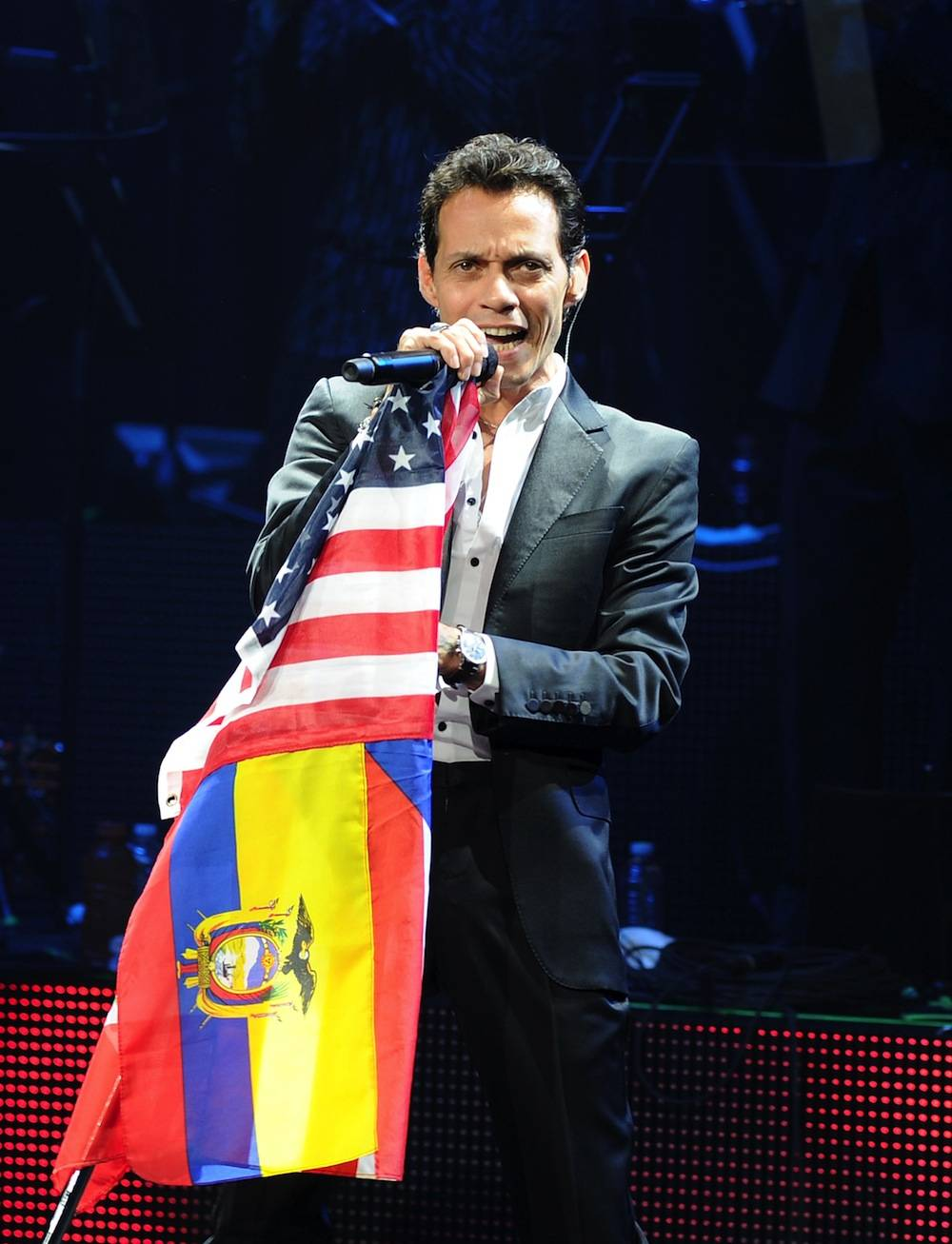 Marc Anthony Performs At The Pearl At Palms Casino Resort