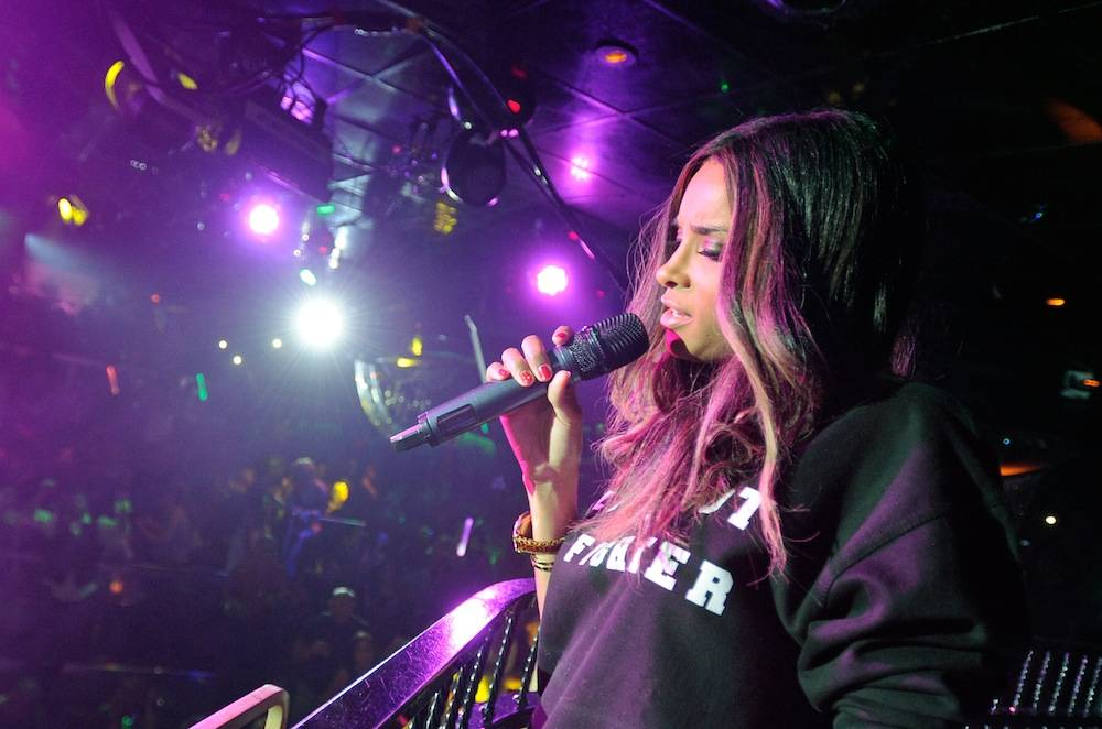 Ciara Performs At The Bank Nightclub At The Bellagio