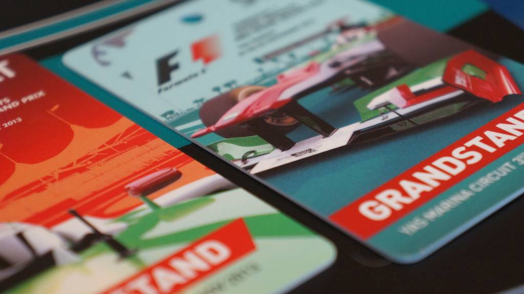 2013 ETIHAD AIRWAYS ABU DHABI GRAND PRIX TICKETS