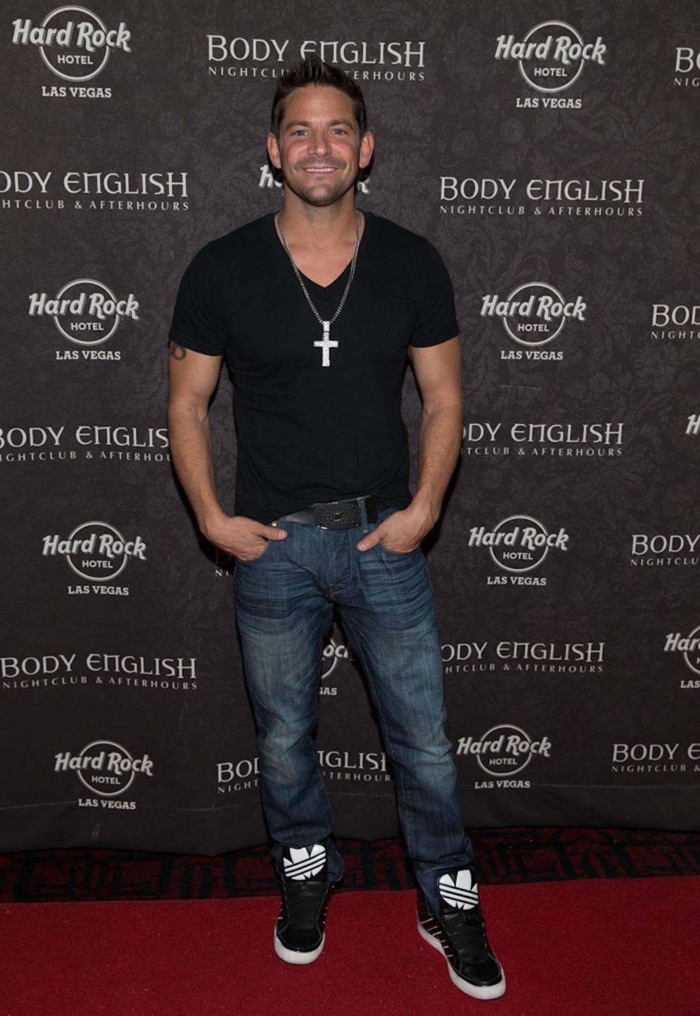 9.1.13 Jeff Timmons at Body English Nightclub & Afterhours in Hard Rock Hotel & Casino, photo credit Erik Kabik