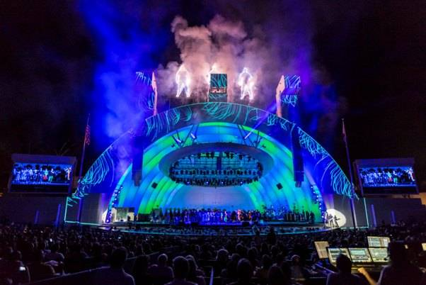 9.6.13 Blue Man Group at the Hollywood Bowl, Photo Credit Christopher Polk of Getty Images (2)