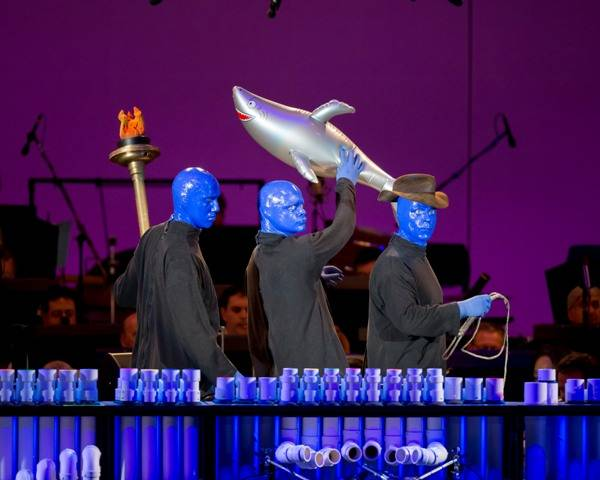 9.6.13 Blue Man Group at the Hollywood Bowl, Photo Credit Christopher Polk of Getty Images (3)