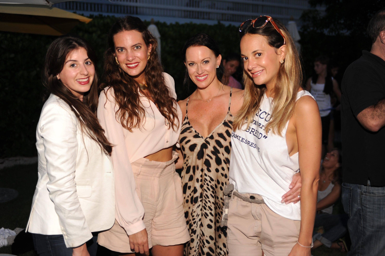 Andreina Cisneros, Jilian Sanz, Krista Karnis, & Erin Newberg