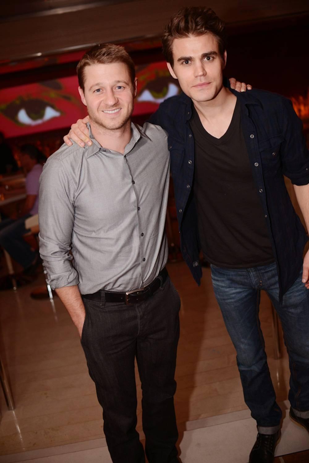 Ben McKenzie and Paul Wesley Aaron Garcia