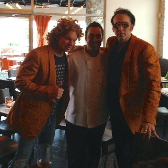 Carrot Top_Carlos Buscaglia_Nic Cage at Due Forni