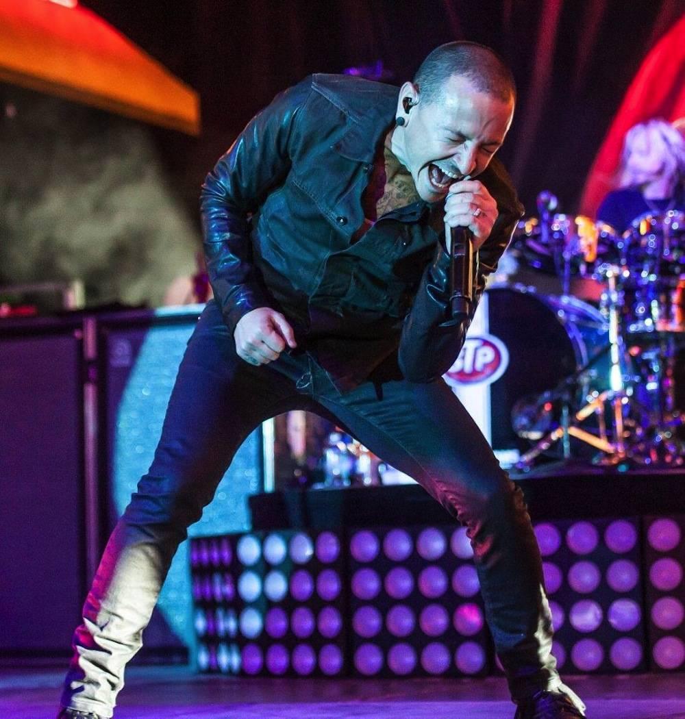 Chester Bennington of Stone Temple Pilots performs at the D Las Vegas 9.27.13