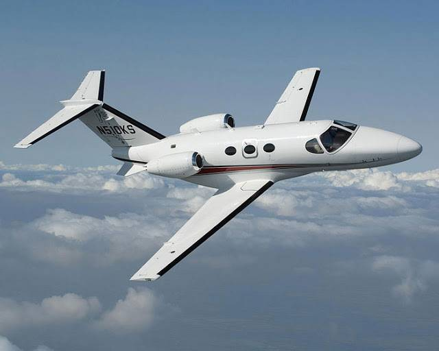 Citation Mustang en vuelo