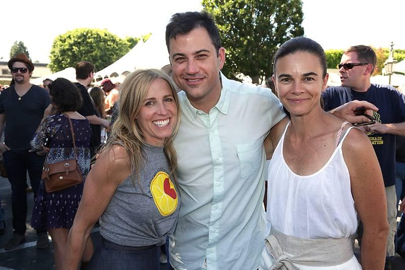 Caroline Styne, Jimmy Kimmel, Suzanne Goin