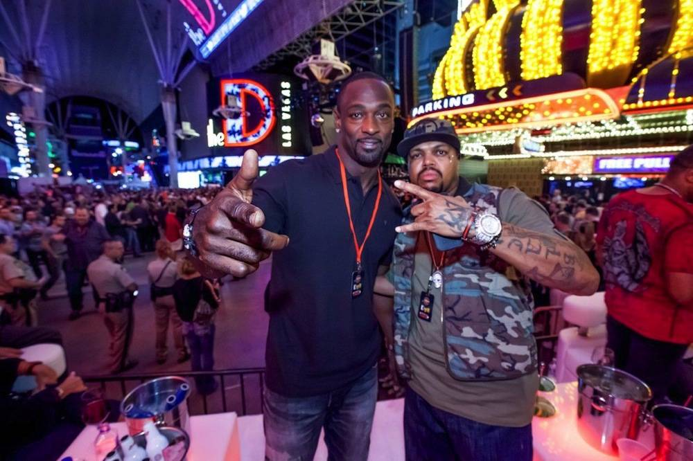 DJ Paul and Jevone Kearse at the D Las Vegas 9.28.13