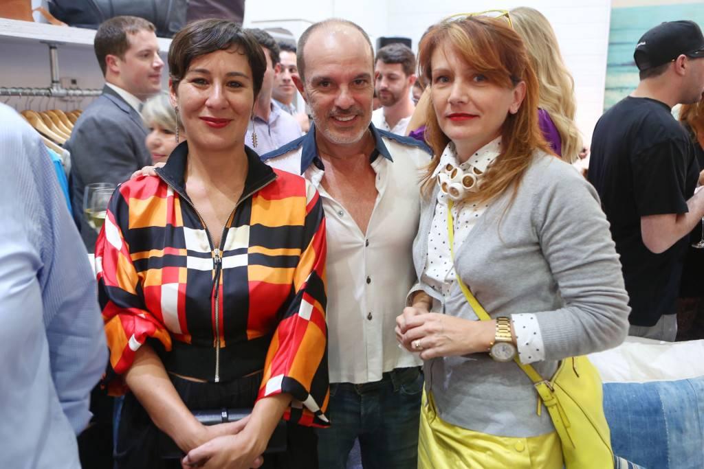 Thais Fontenelle, Rene Gonzalez, & Rita Motta