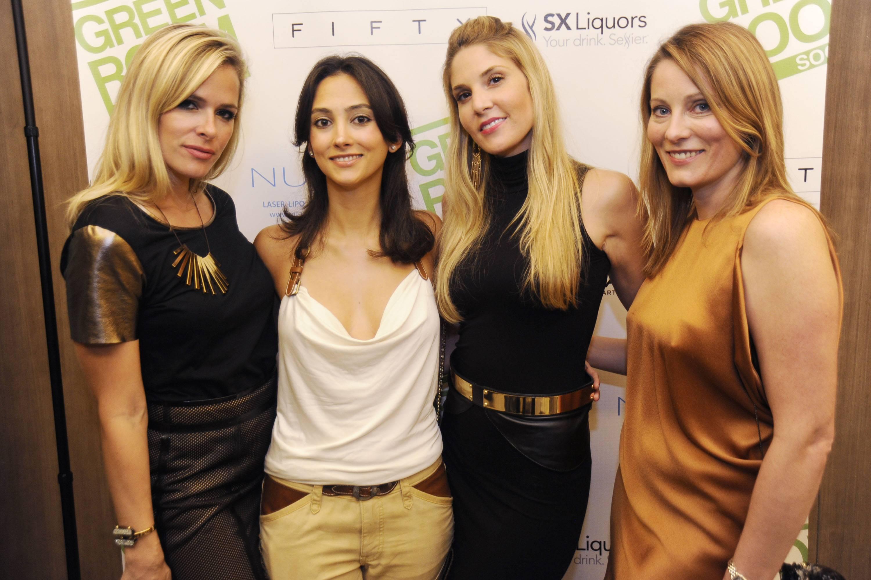 Jessica Anderson, Vanessa Karam, Jillian Posner, & friend