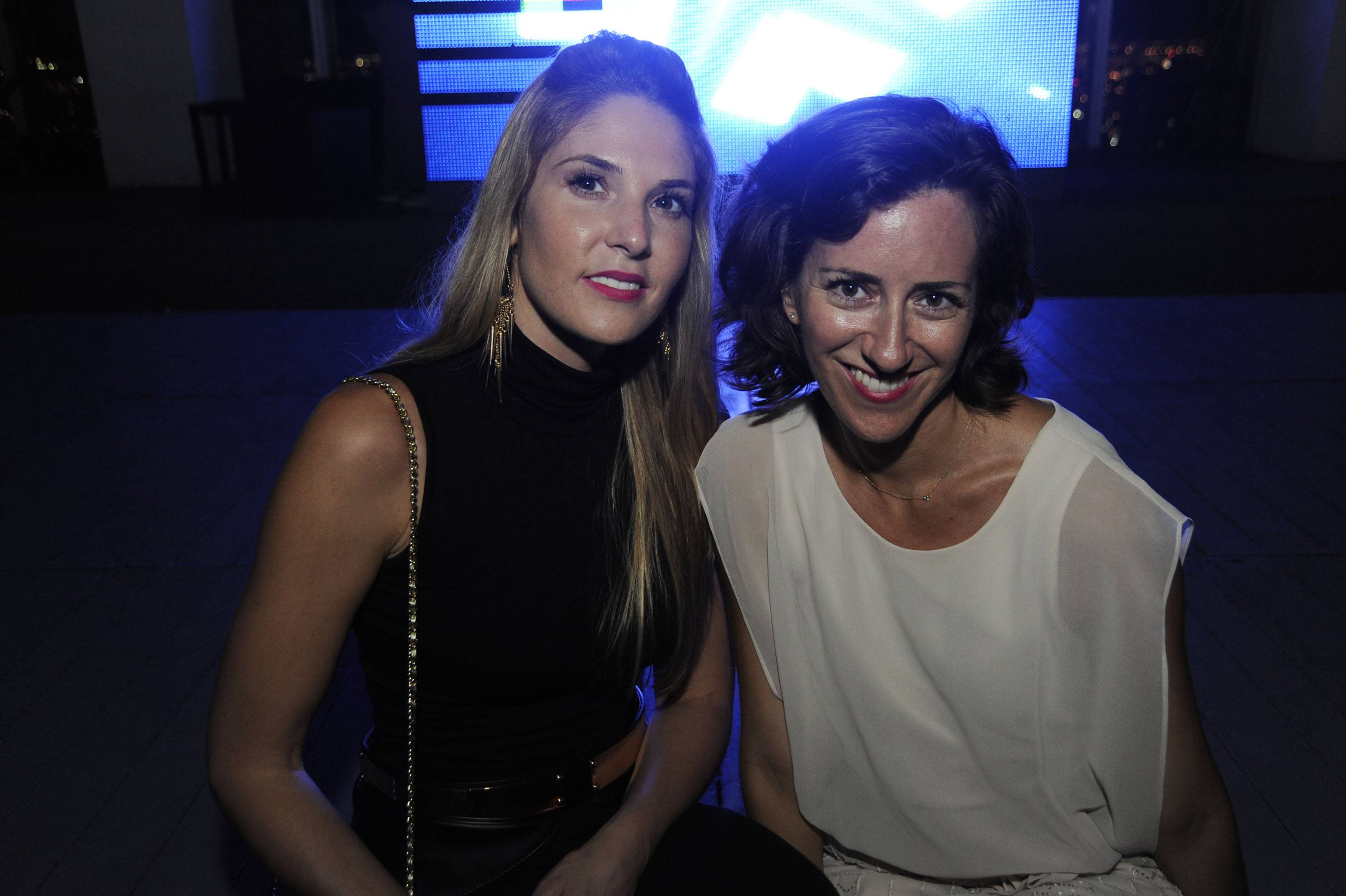 Jillian Posner, Chairman of the Green Room Society & Eva Silverstein, Director of Advancement, at the Green Room Society's season kick-off event