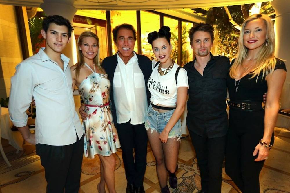 Katy Perry and friends at Botero. Photos: Danny Mahoney