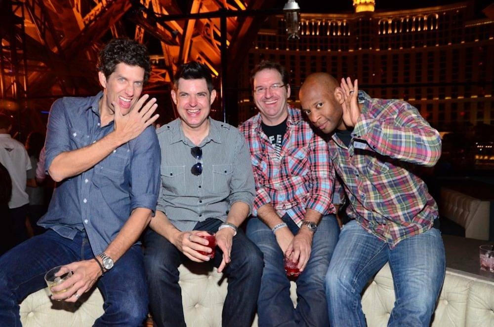 Kevin Griffin_Tom Drummond_Jim Payne_Michael Jerome_Better Than Ezra_Chateau Nightclub Rooftop