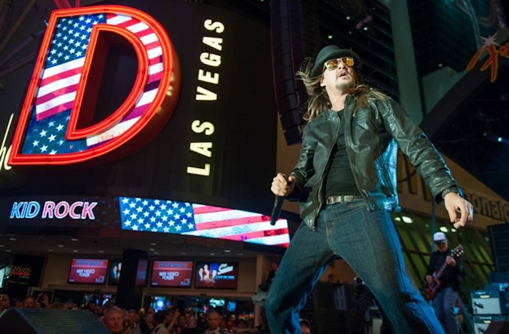 Kid Rock performs at the D Las Vegas 9.28.13