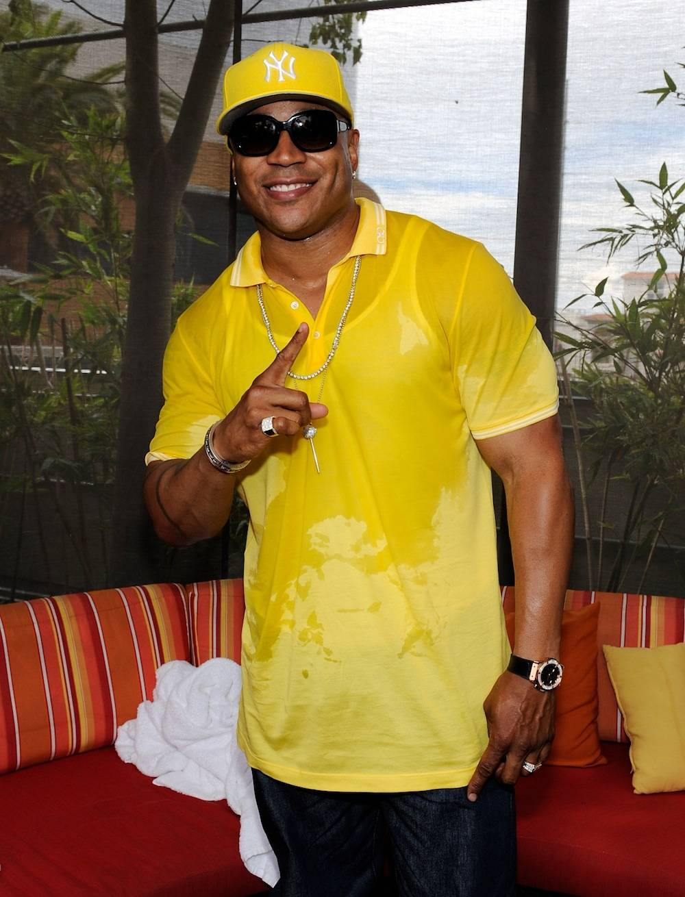 "LL Cool J Performs At ""Ditch Saturdays"" At Palms Pool In Las Vegas"