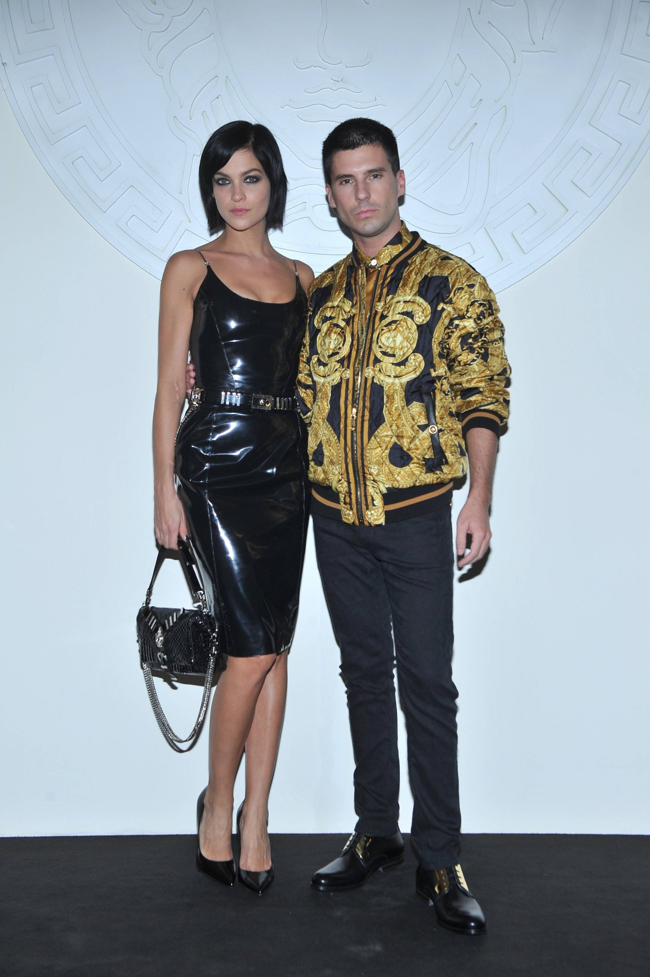 Celebrities At Versace S Spring Summer 14 Show Haute Living