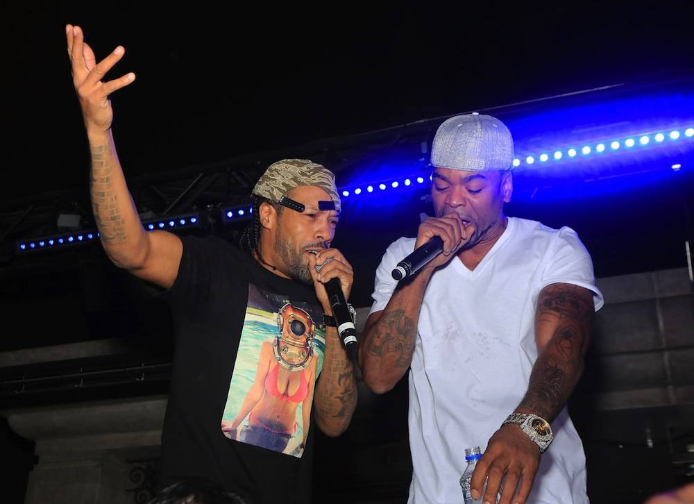 Hip-Hop Duo Method Man And Redman Perform Live At Chateau Nightclub & Gardens