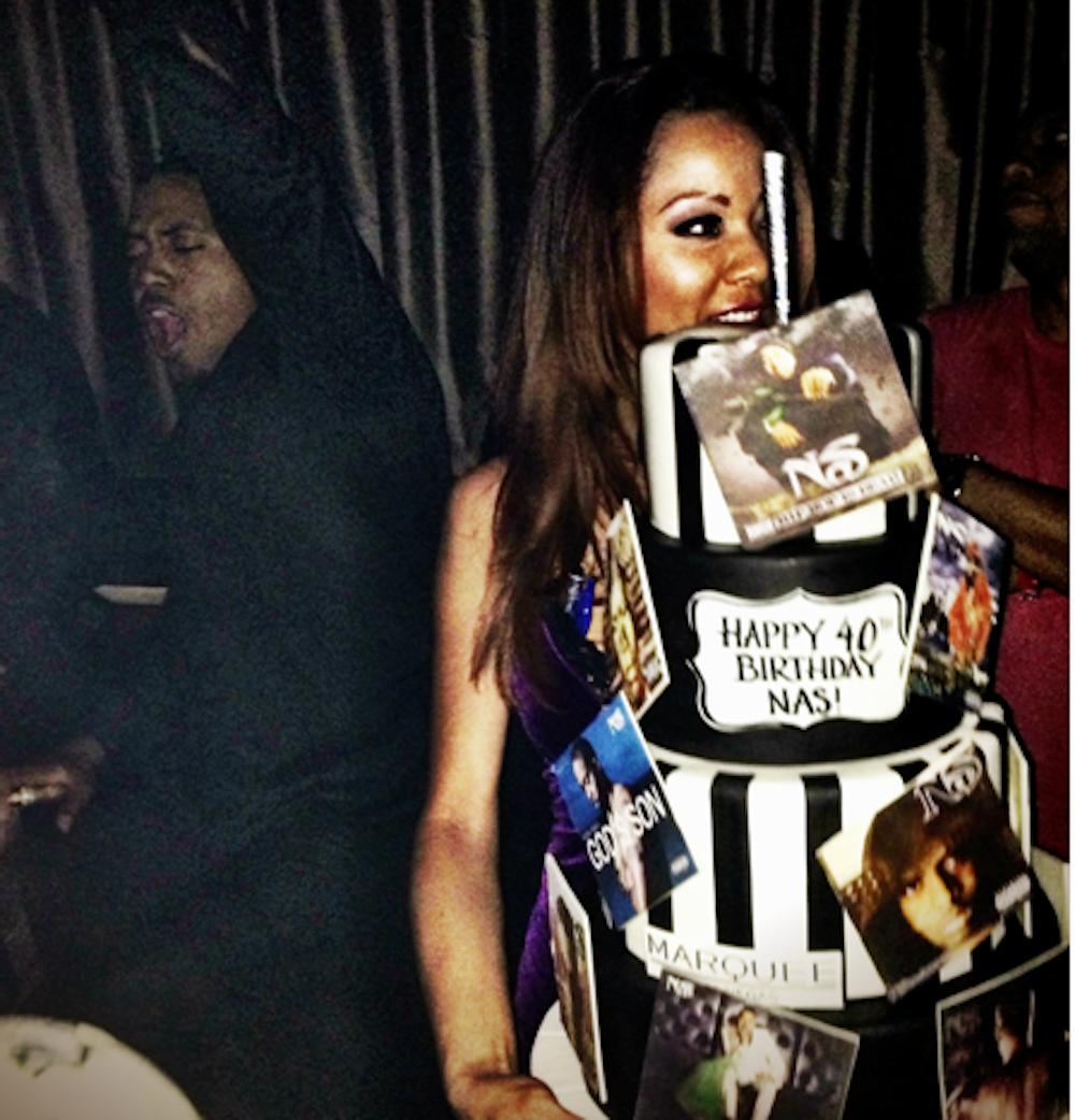 Nas_Cake_Marquee Nightclub