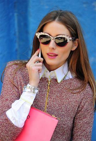 Olivia Palermo in Tiffanys Atlas Jewelry collection