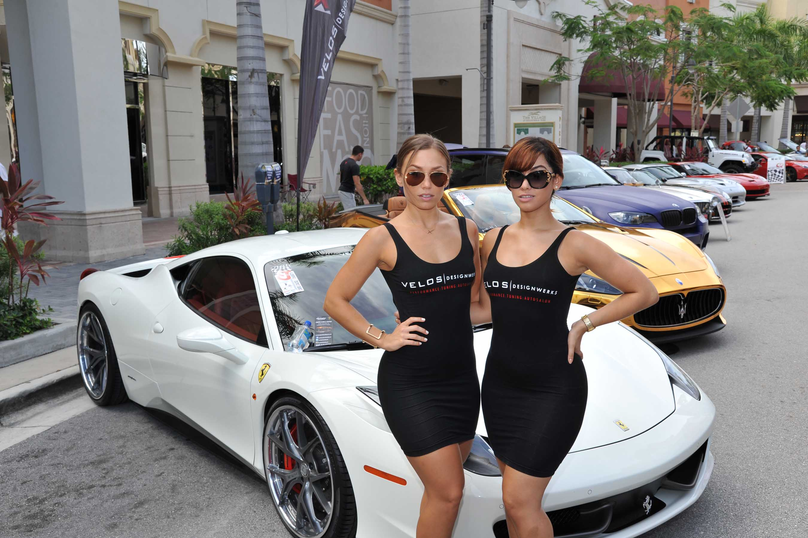 """Cars, Cause & Charity"" Block Party at Gulfstream Park"