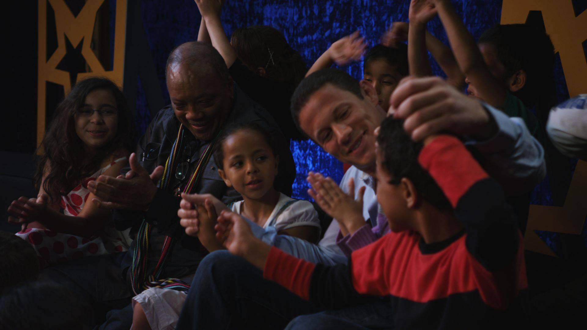 Quincy, Badr & the kids