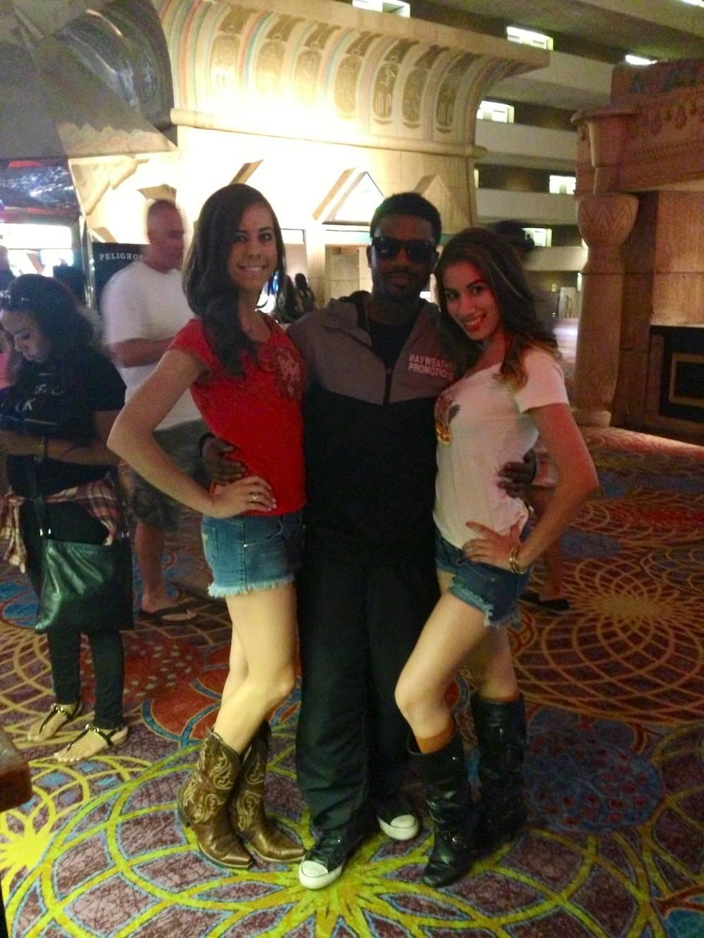 Ray J at T&T