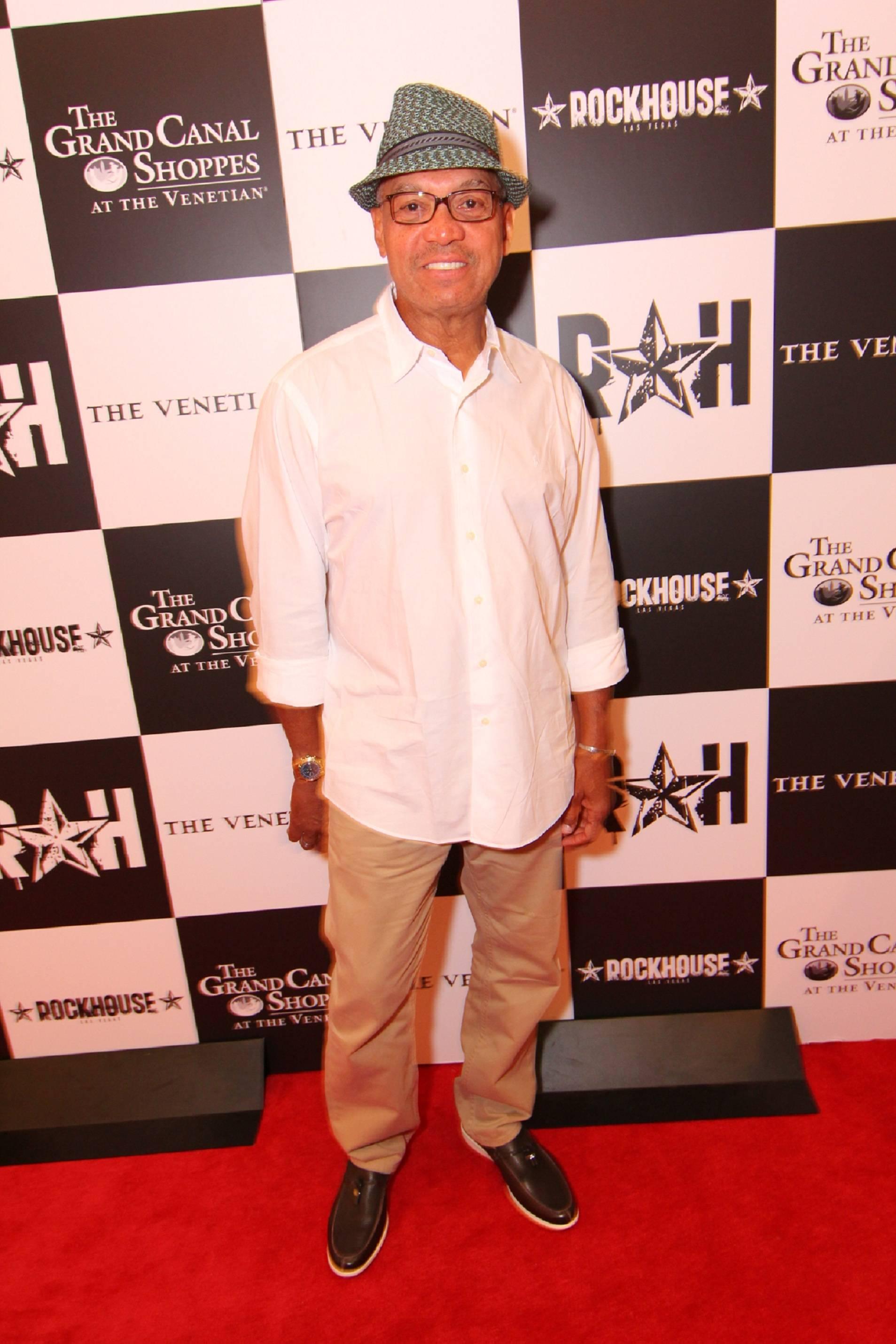 Reggie Jackson Poses at Rockhouse