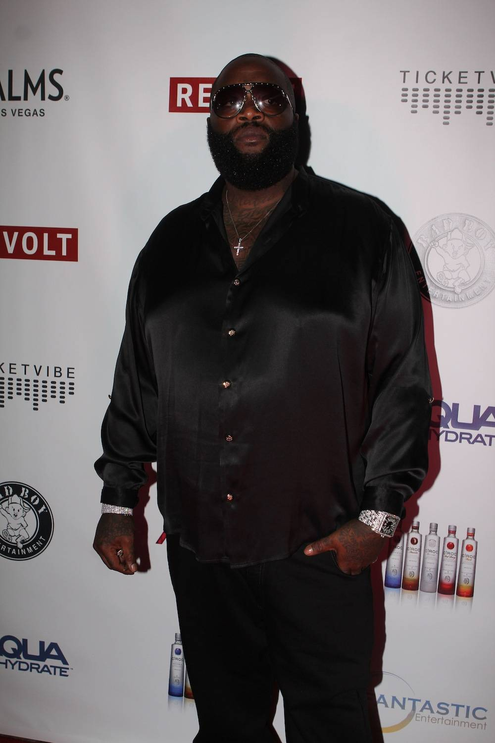 Rick Ross on carpet