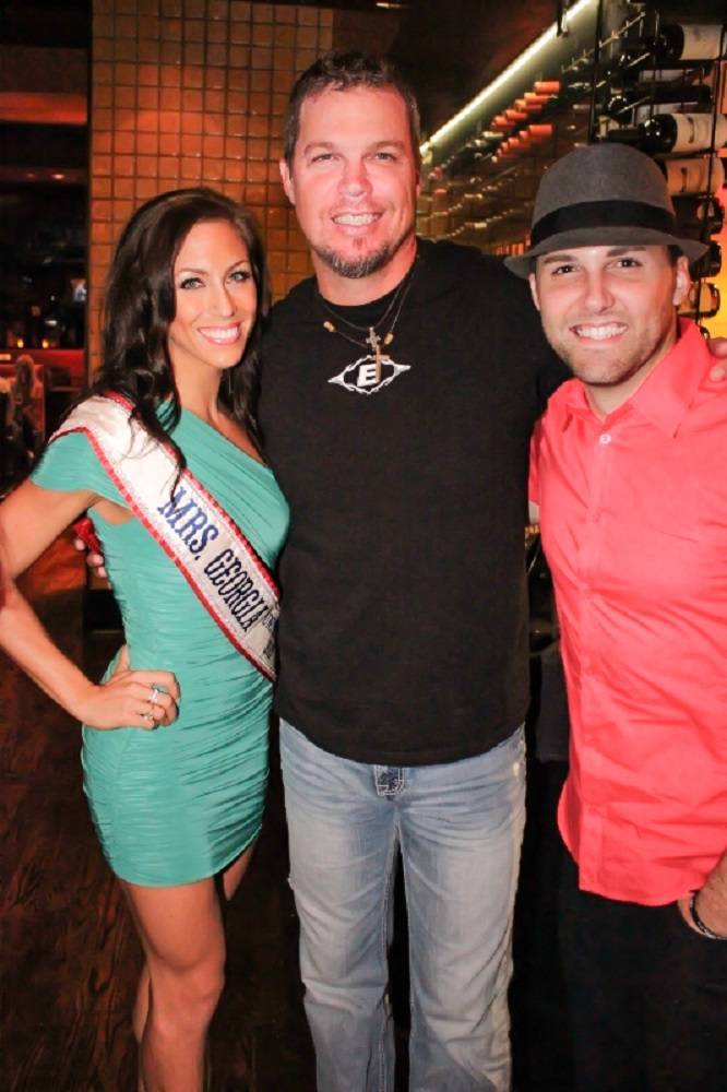 Sandra Cauley- Mrs. Georgia 2013, Chipper Jones, The Voice's Chris