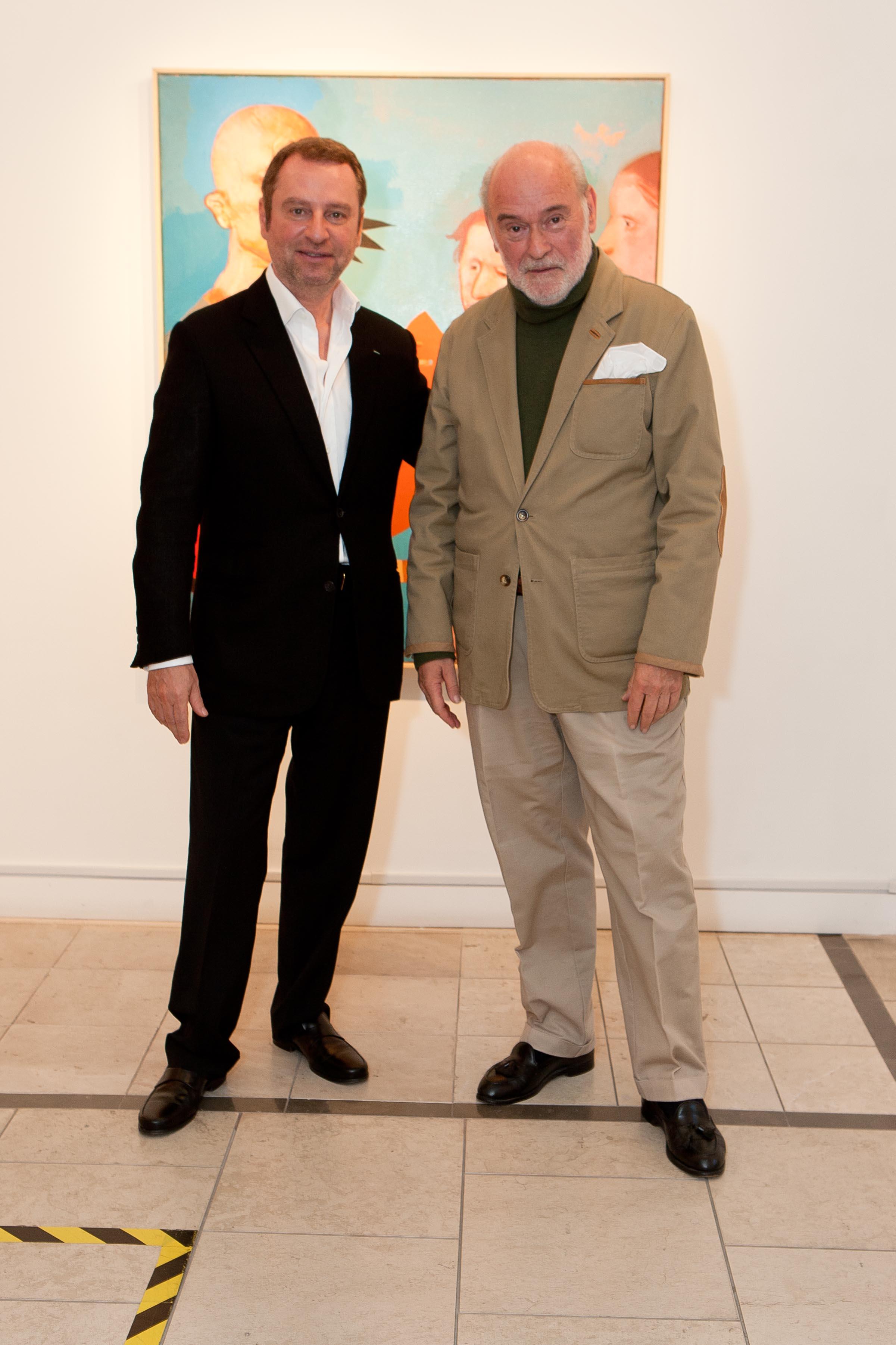 Serge Sorokko and Miguel Condé