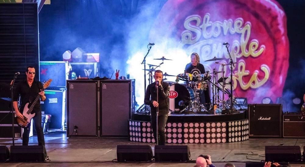 Stone Temple Pilots feat Chester Bennington perform at the D Las Vegas 9.27.13