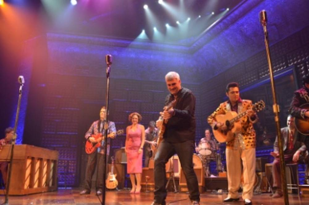 Taylor Hicks Jams with Million Dollar Quartet 9.25.13 ©Caesars Entertainment