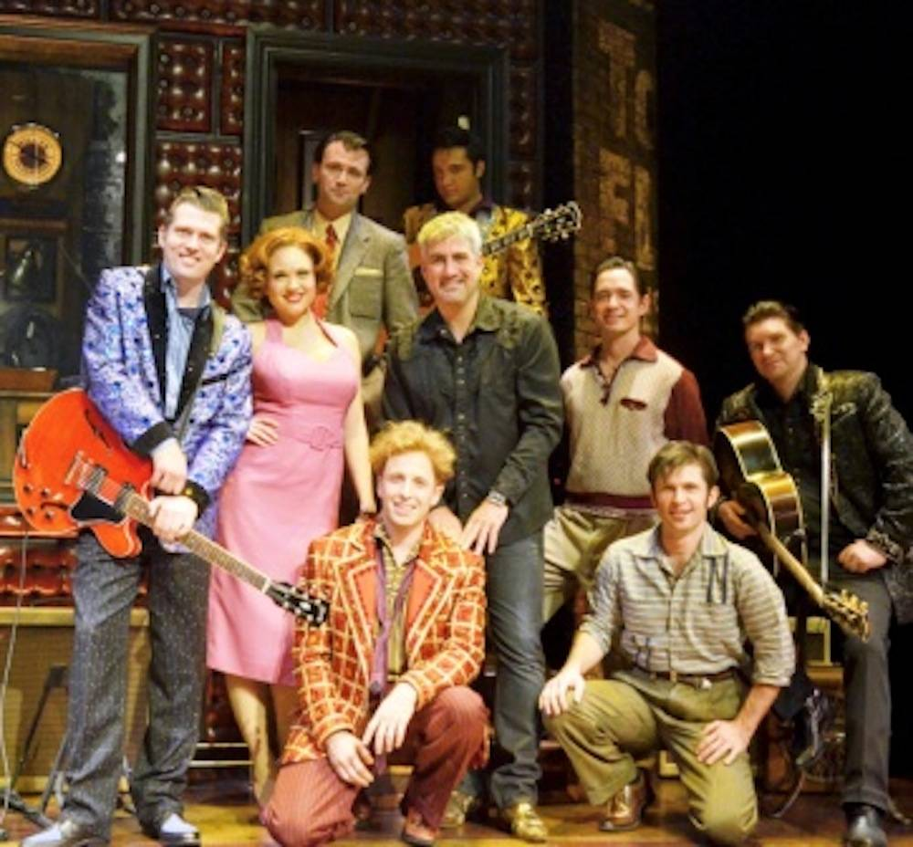 Taylor Hicks with Million Dollar Quartet Cast ©Caesars Entertainment