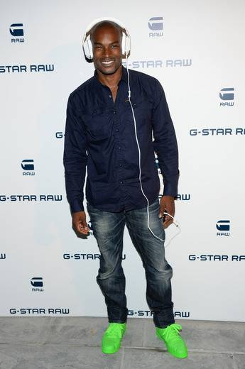 Tyson Beckford G-Star Raw event
