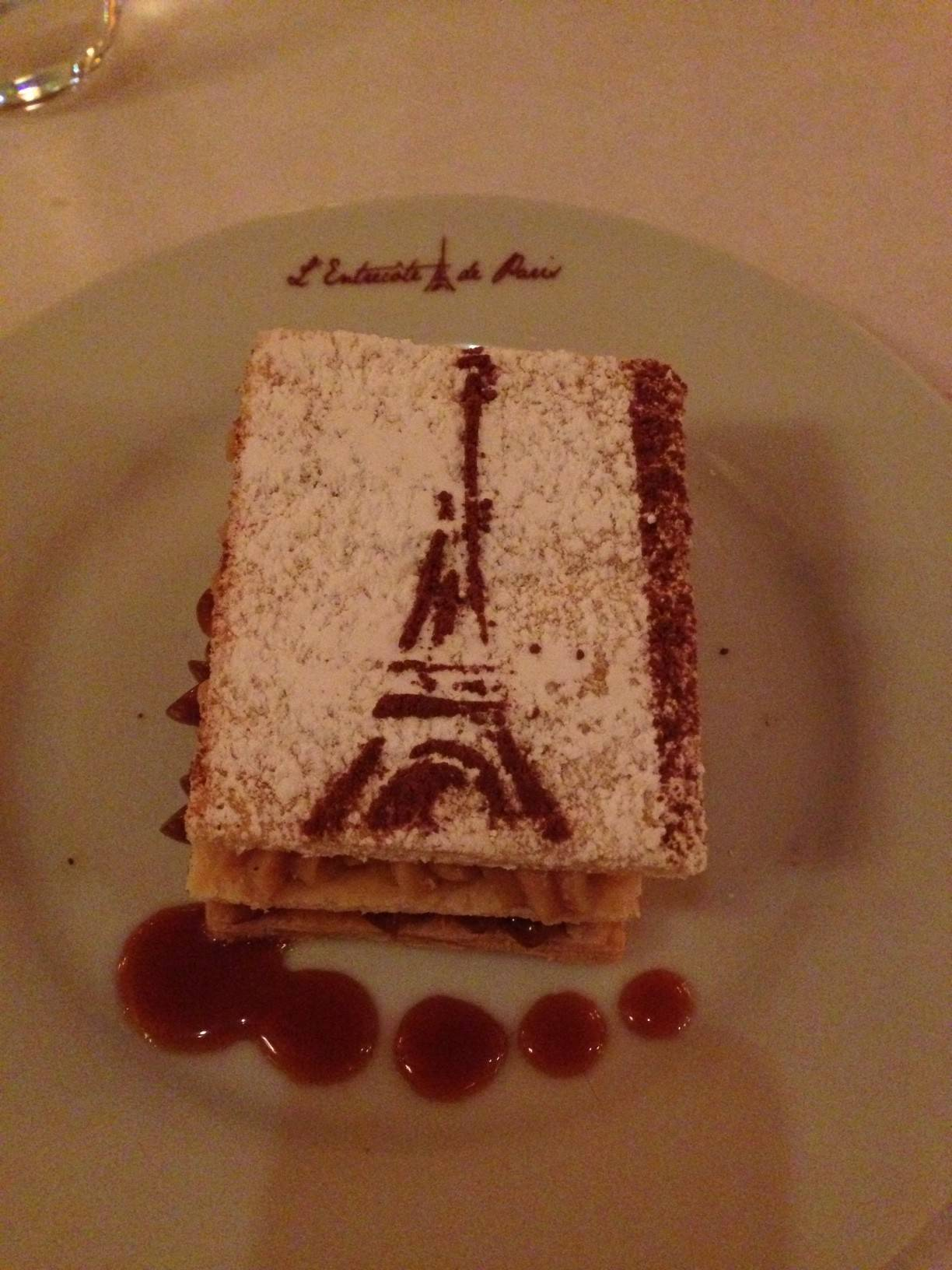 Millefeuille Cuban-style with dulce de leche