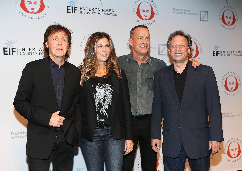Paul McCartney, Rita Wilson, Tom Hanks, Ben Donenberg