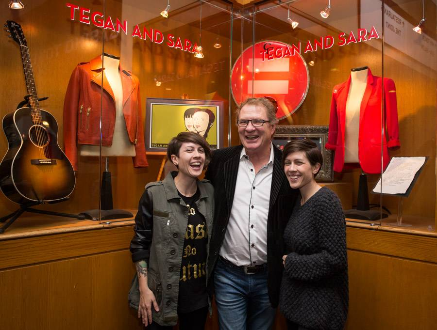 Tegan and Sara honored with display at Hard Rock Hotel & Casino in Las Vegas
