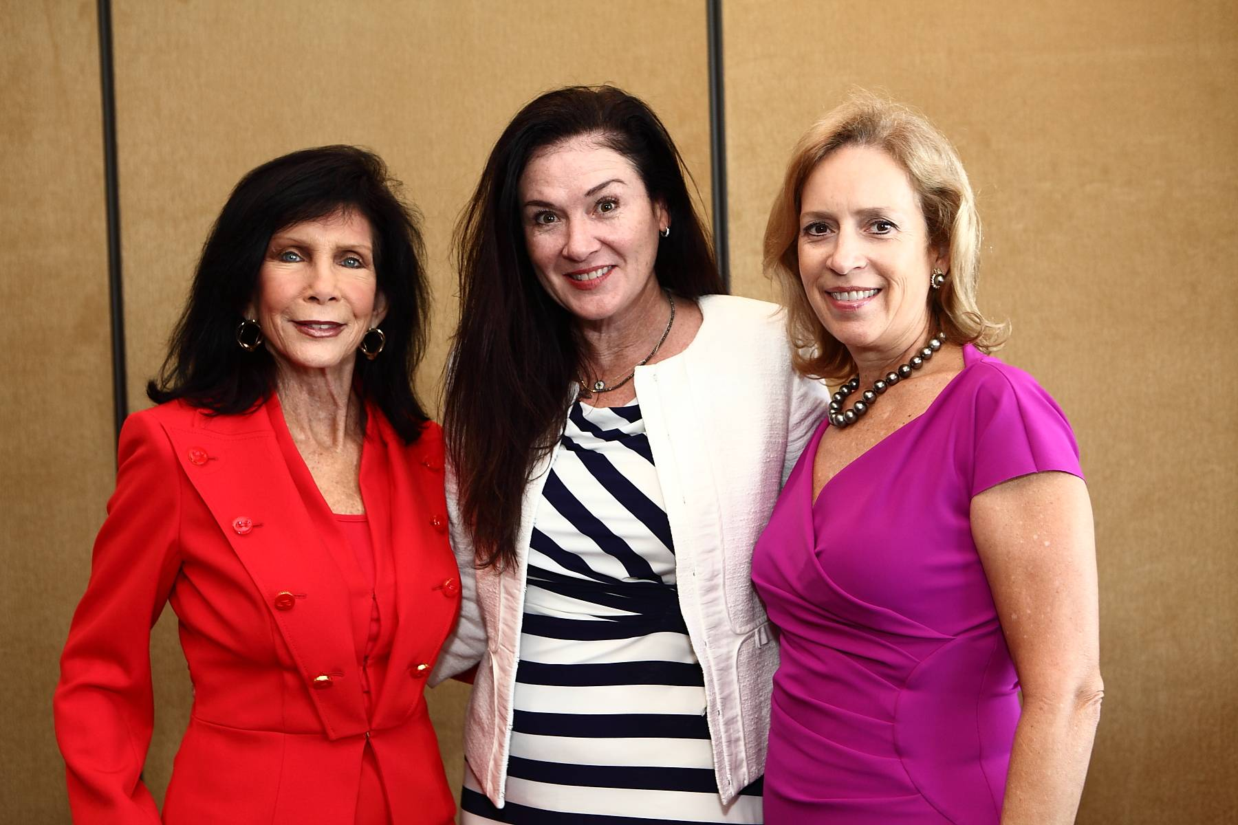 Trish Bell( Philanthropic Chair and Museum Board Co-Chair), Michele Addison,  Alicia Cervera Lamadrid ( 2014 Host Chair)