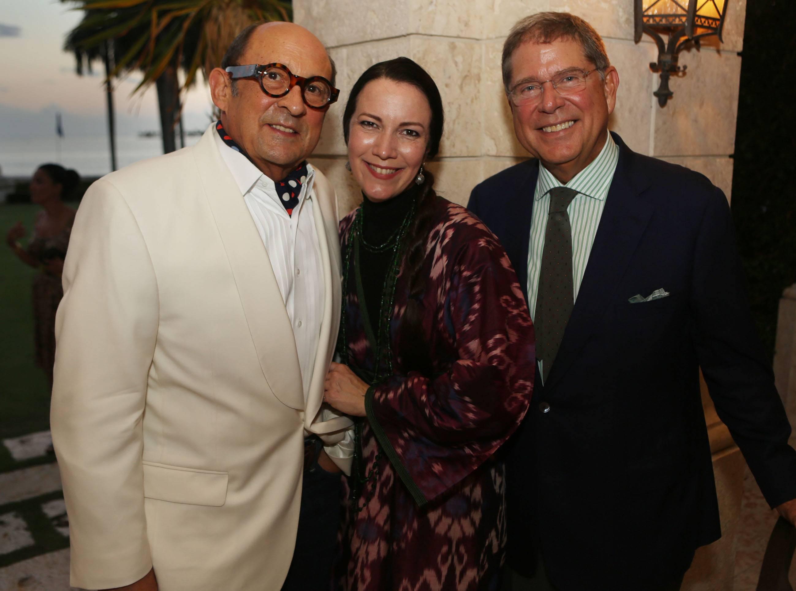 Marvin Ross Friedman, Adrienne bon Haes, & Alberto Ibarguen