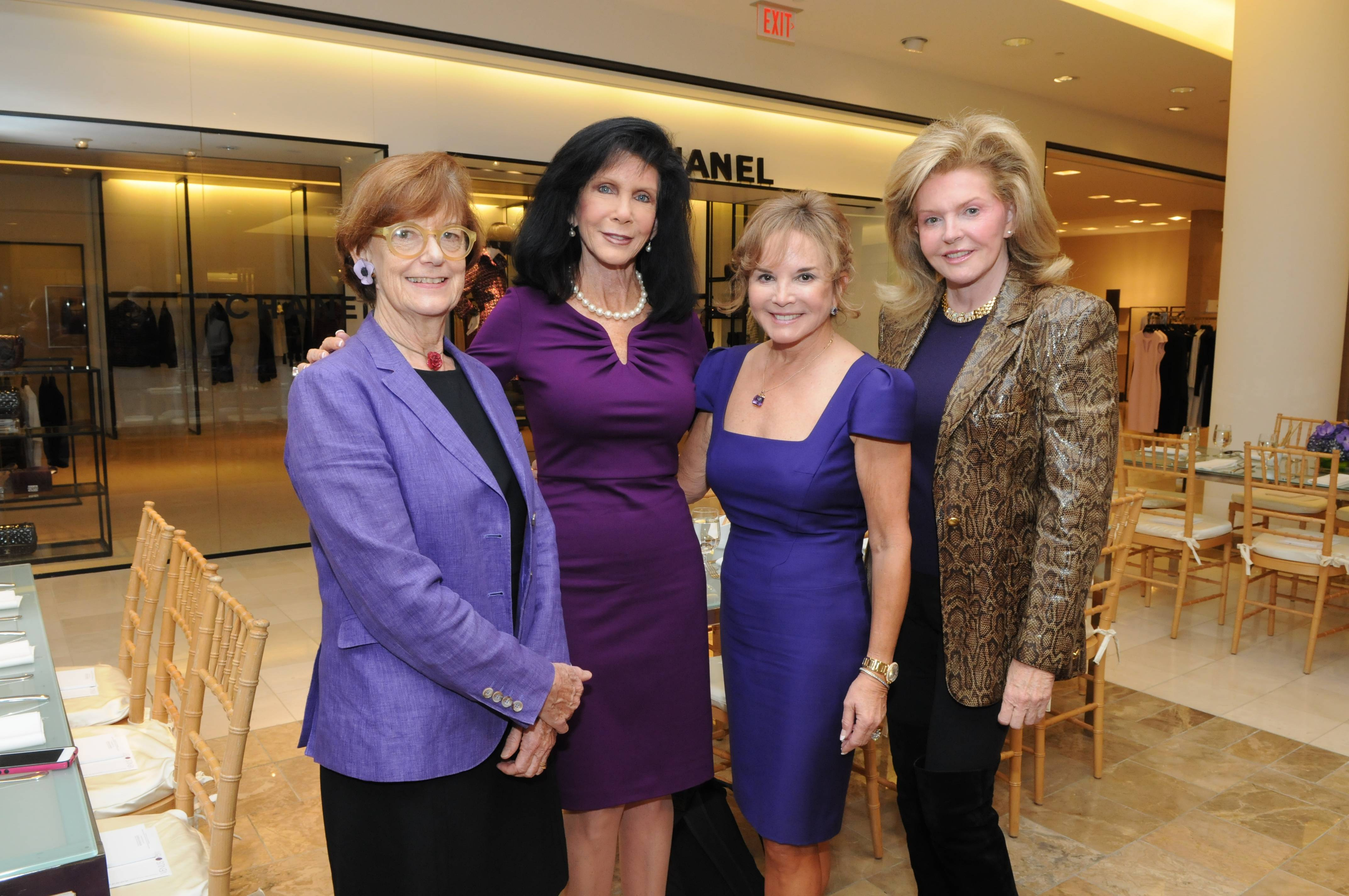 Gillian Thomas, Trish Bell, Swanee DiMare, and Brenda Nestor Castellano